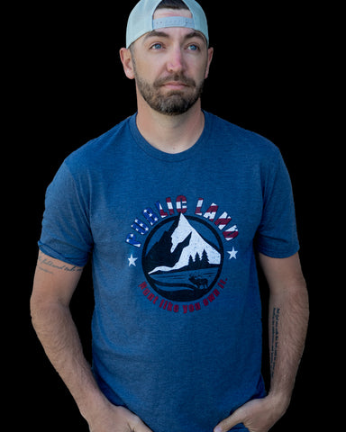 MOUNTAIN MORNINGS PATRIOTIC T-Shirt