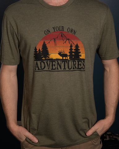 *NEW* ON YOUR OWN ADVENTURES THROWBACK T-shirt