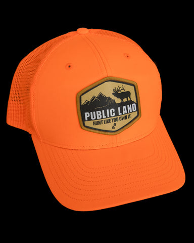 *NEW* Public Lands Blaze Orange Hat