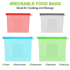 Food Bags- Pack of 4