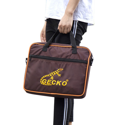 GECKO Travel Box Drum Cajon Flat Hand Drum Percussion Instrument with Bag