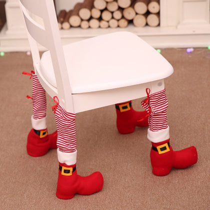 Christmas Decoration Table Foot Cover
