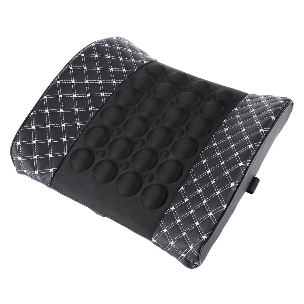 Portable Vibrating Back Massage Cushion with Bump