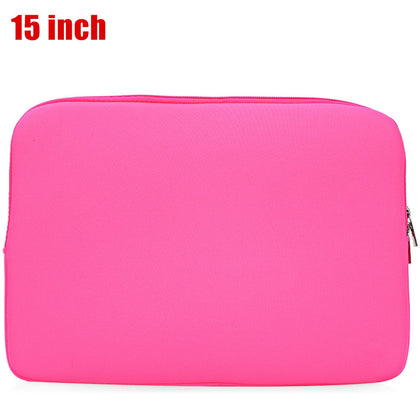 Korean Style Universal Foam Zipper Soft Sleeve Computer Bag for MacBook Air Pro Retina