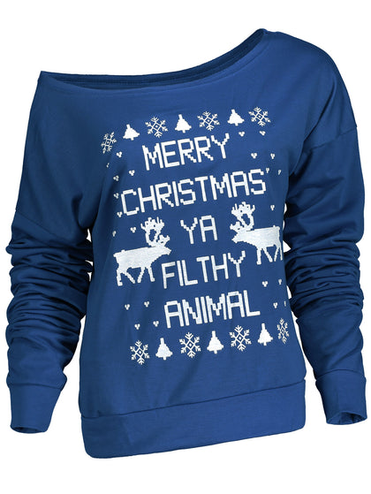 Christmas Sweatshirt For Women