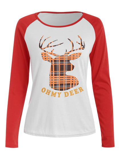 Christmas Long Sleeve T-Shirt For Women