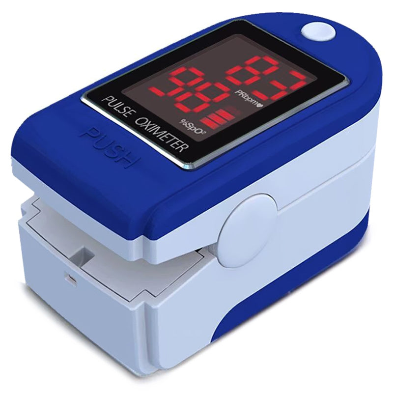 Finger Clip Oximeter Medical Home Monitoring of Heart Rate