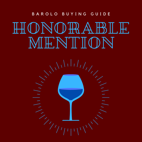 Honorable Mention Barolo Buying List
