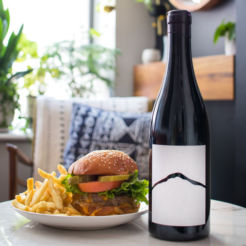 Austrian Wine and Burgers