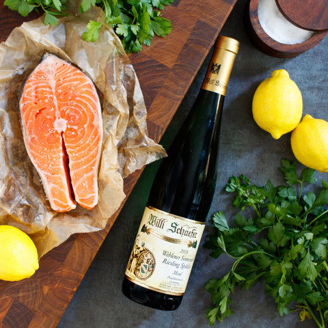 Willi Schafer Riesling Wine Food Pairing Fish