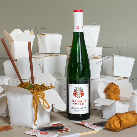 Selbach Oster Riesling Wine Pairing with Chinese