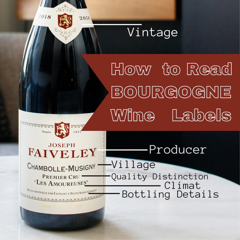 How to read bourgogne wine labels