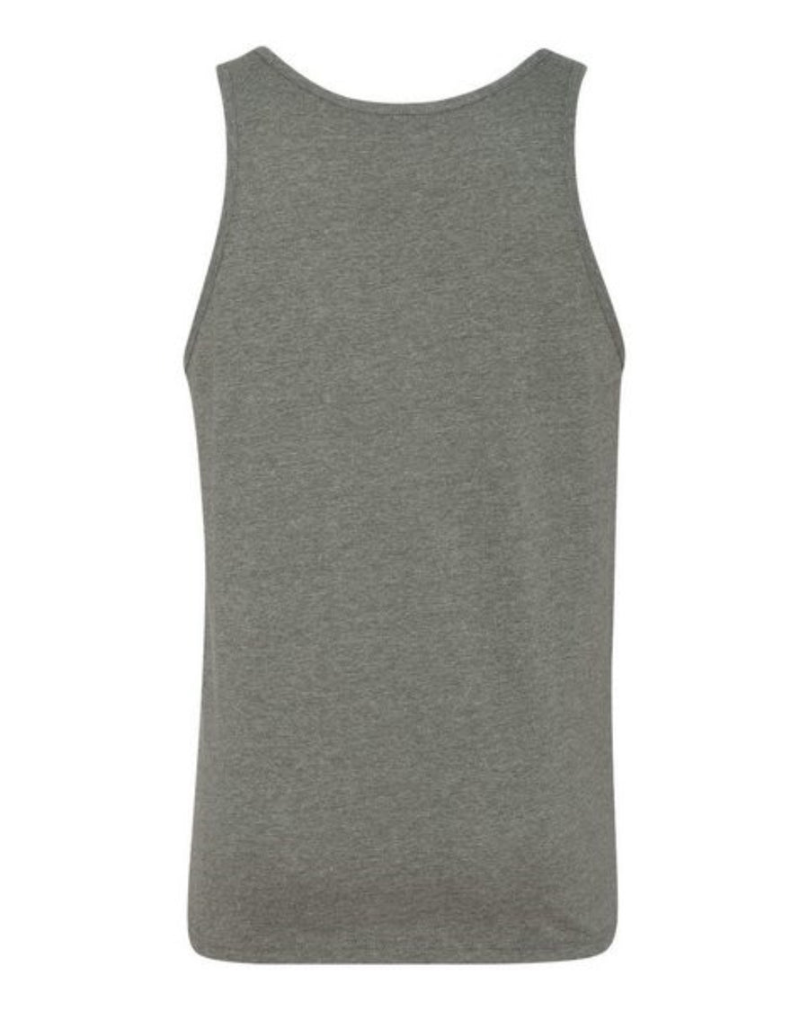 "Tank Top Year Of The Nurse 2020 Bella+Canvas ""I Survived"" Deep Heather GREY"