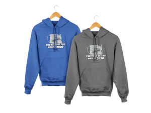 HOODIES Year Of The Nurse 2020, I Survived, Nurse, Frontline, Grey
