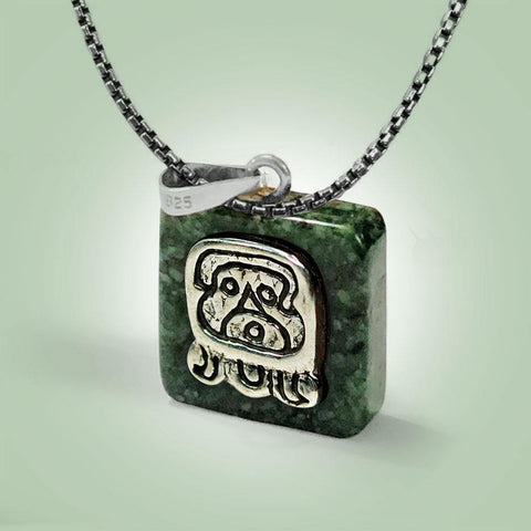 Ajpu Glyph Necklace