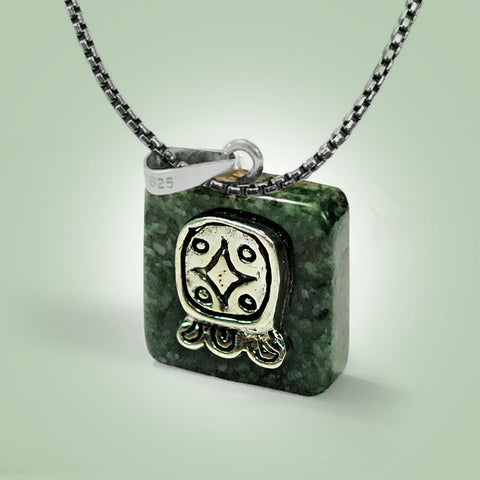 Q'anil Glyph Necklace