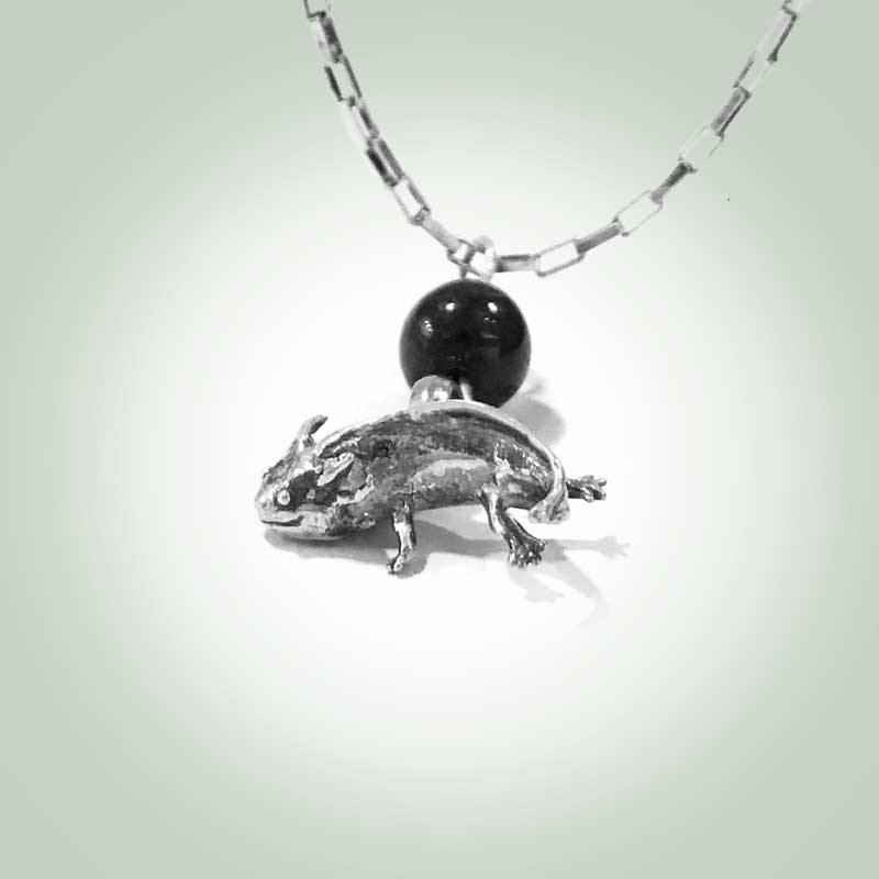 Axolotl (Ambystoma Mexicanum) Necklace