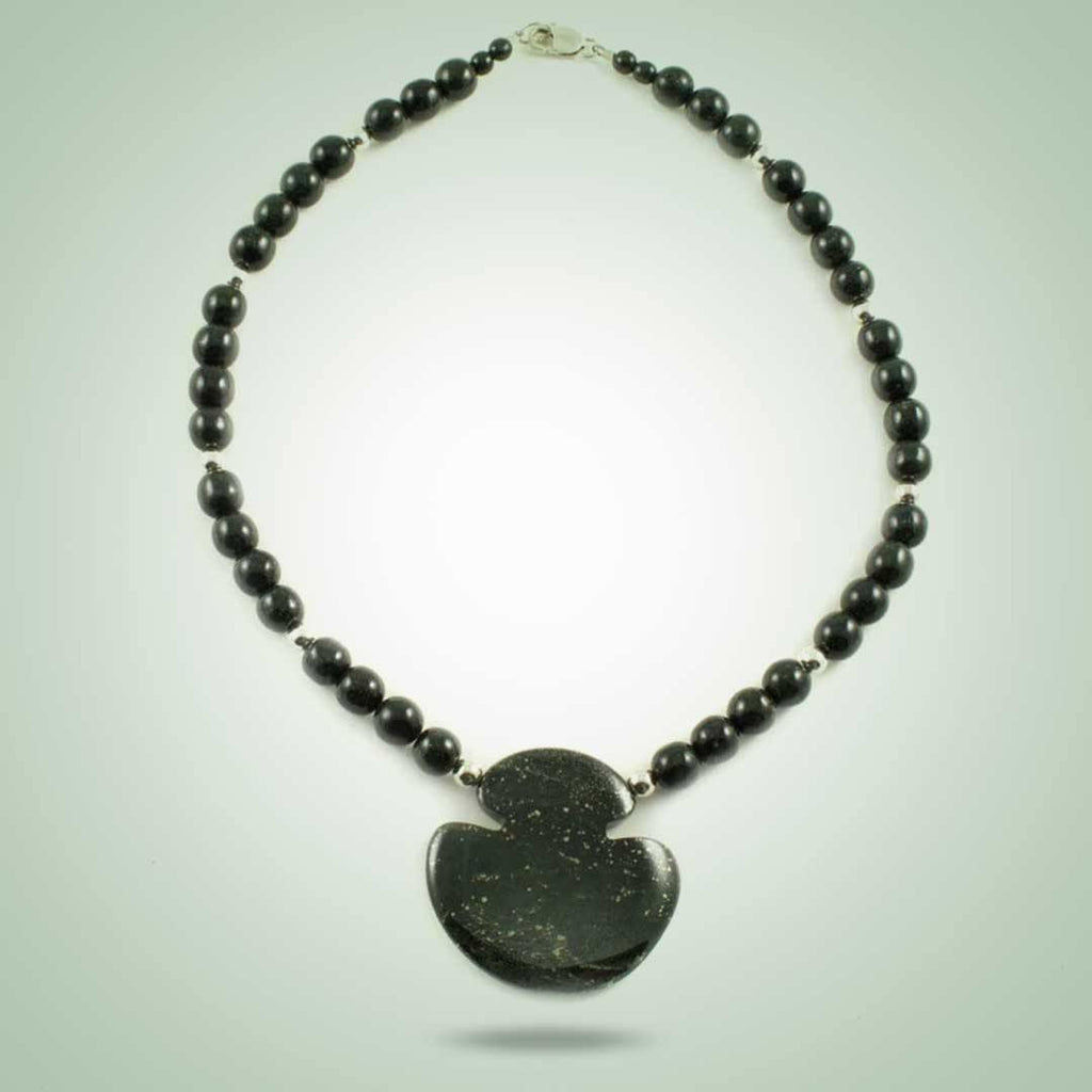 Galactic Celt Beaded Necklace - Jade Maya