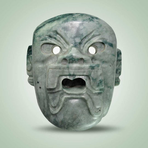 Olmec Maize God Mask