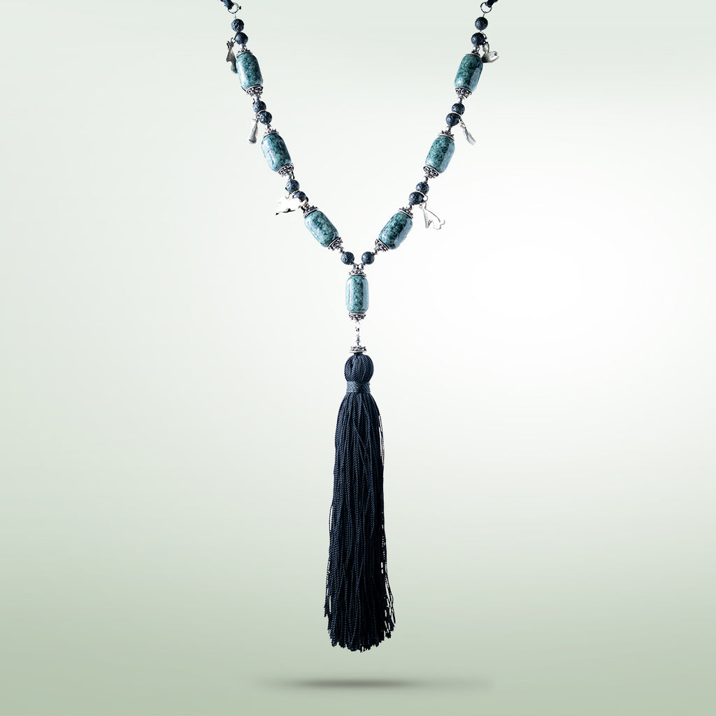 Tassel-Chachal Necklace