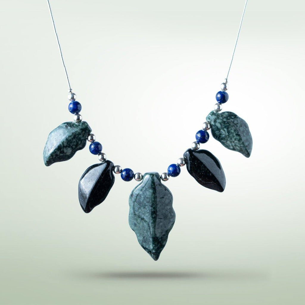 Foliage Necklace - Jade Maya