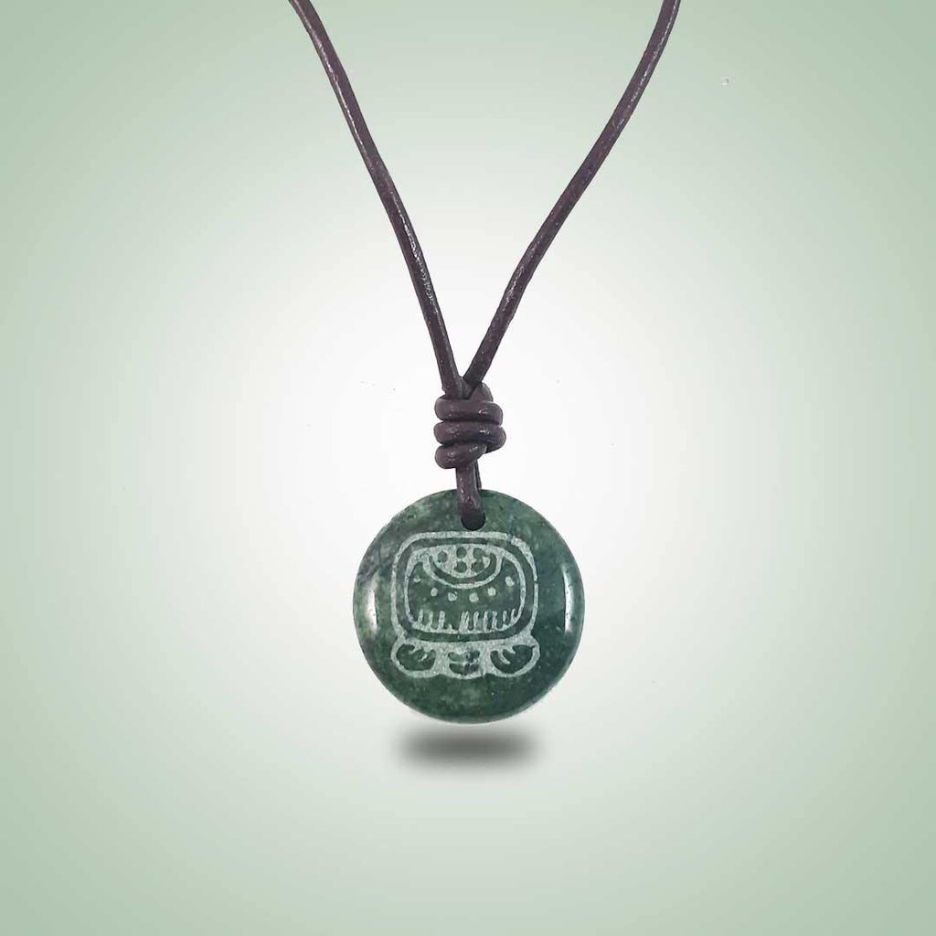 Imox Leather Necklace (26mm) - Jade Maya