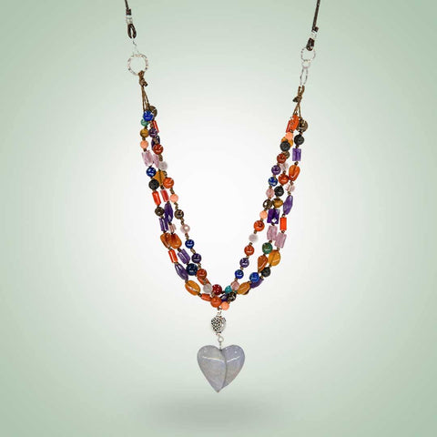 Kaleidoscope Love Necklace