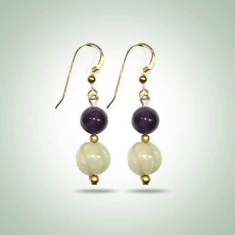 Orchid Earrings - Jade Maya