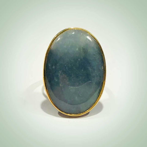 Blue MaryLou Ring