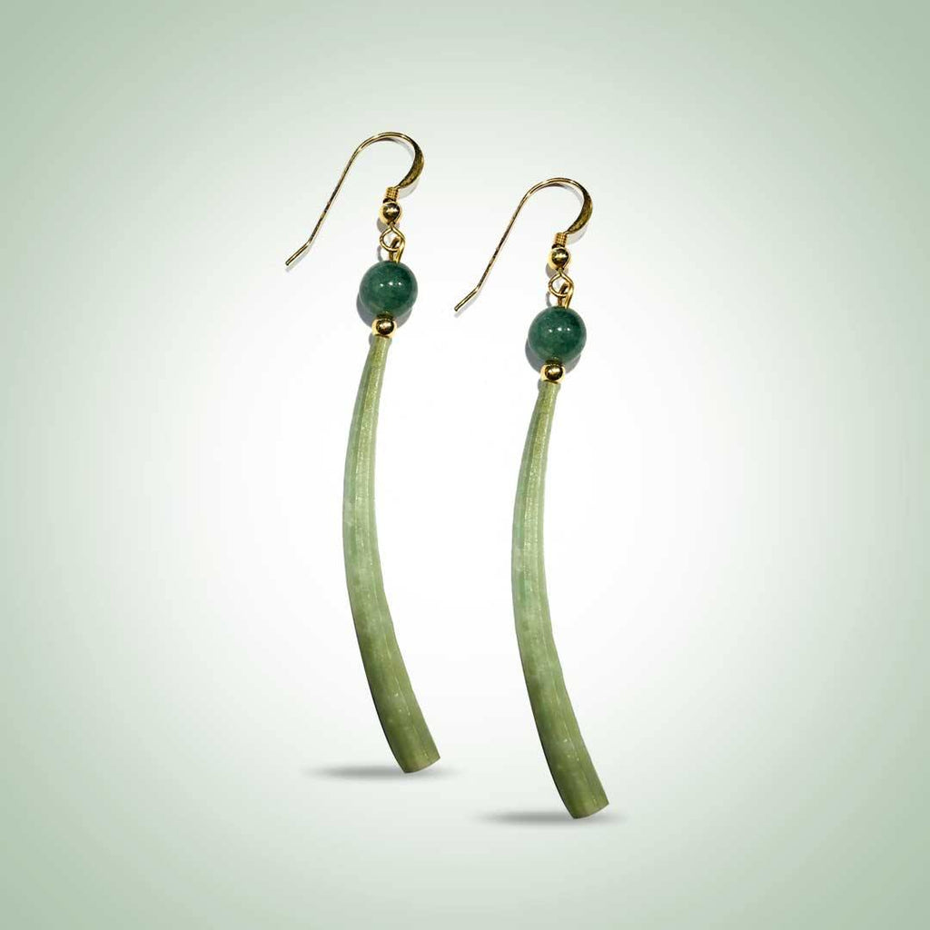 Dentalium Earrings - Jade Maya