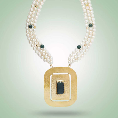 Roman Necklace - Jade Maya