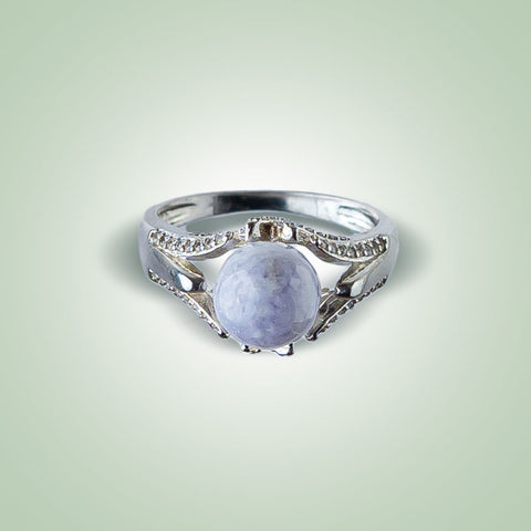 Purple Moon Ring