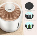 AiryMist AiryMist Air Humidifier | Air Purifying Mist Maker with Intelligent Screen, White
