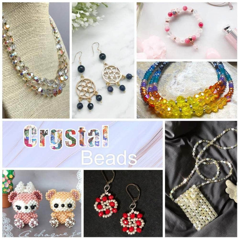 Artsy Artsy Crystal Beads, Connectors Spacers for Jewelry-Making, Earring, Necklace, Bracelet, Accessories