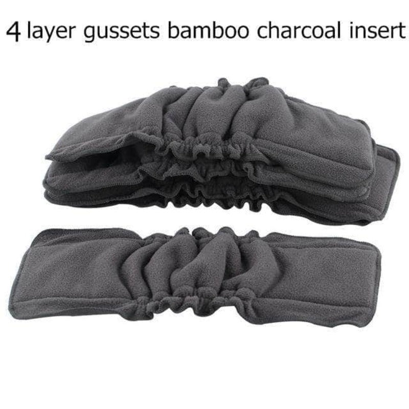 Axen 5 Pcs Bamboo Charcoal Insert, Baby Cloth Diaper Mat