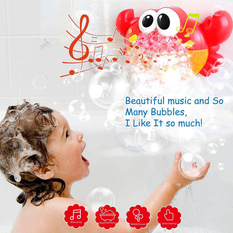 Babarox Babarox Baby Bath Bubble Maker Machine with Music