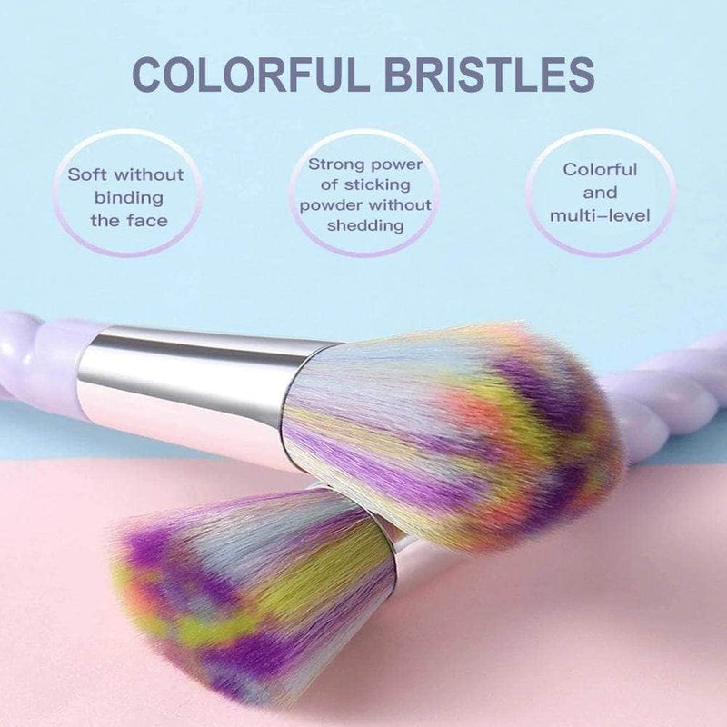 Balare Balare 10-pcs Unicorn Makeup Brush Set OODS0001284