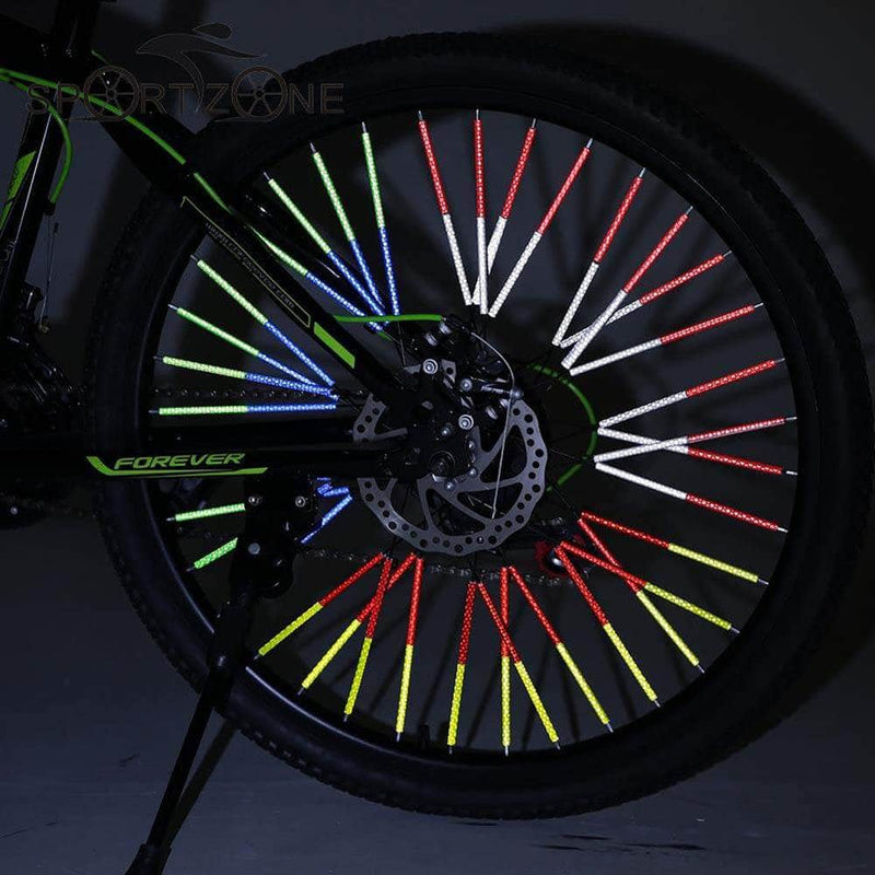 Bikeonus Bikeonus Mountain Bike Wheel Rim Spoke Reflector