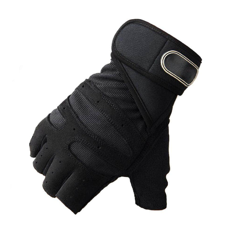 BodyCircuit Black / M BodyCircuit Gym Gloves for Fitness Exercise and Weight Lifting, Black OODS0001069