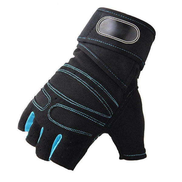 BodyCircuit Blue / M BodyCircuit Gym Gloves for Fitness Exercise and Weight Lifting, Blue OODS0001066