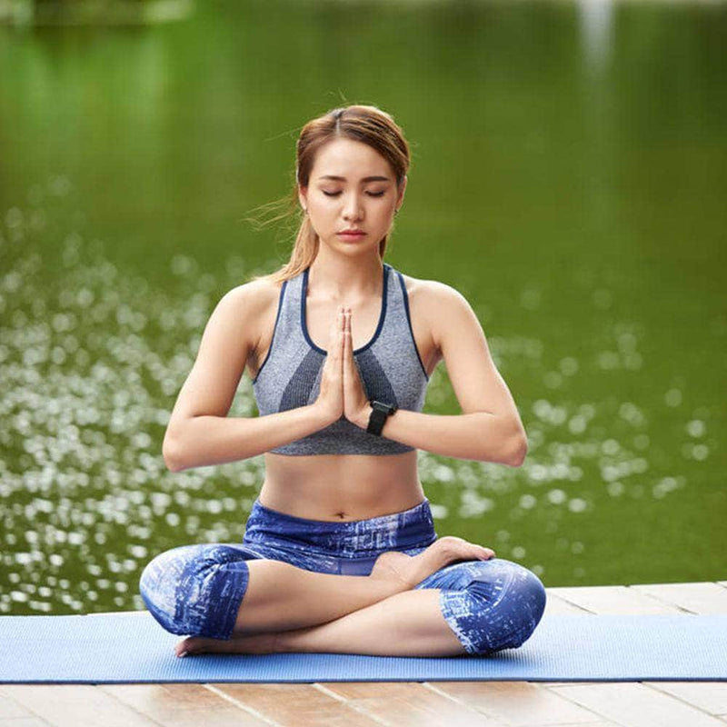 BodyPurge BodyPurge Eco-Friendly Non-Slip Yoga Mat with Body Alignment System