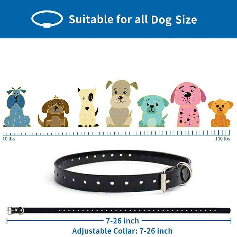 CanineVille CanineVille Dog Training Collar with Remote | Waterproof and Rechargeable