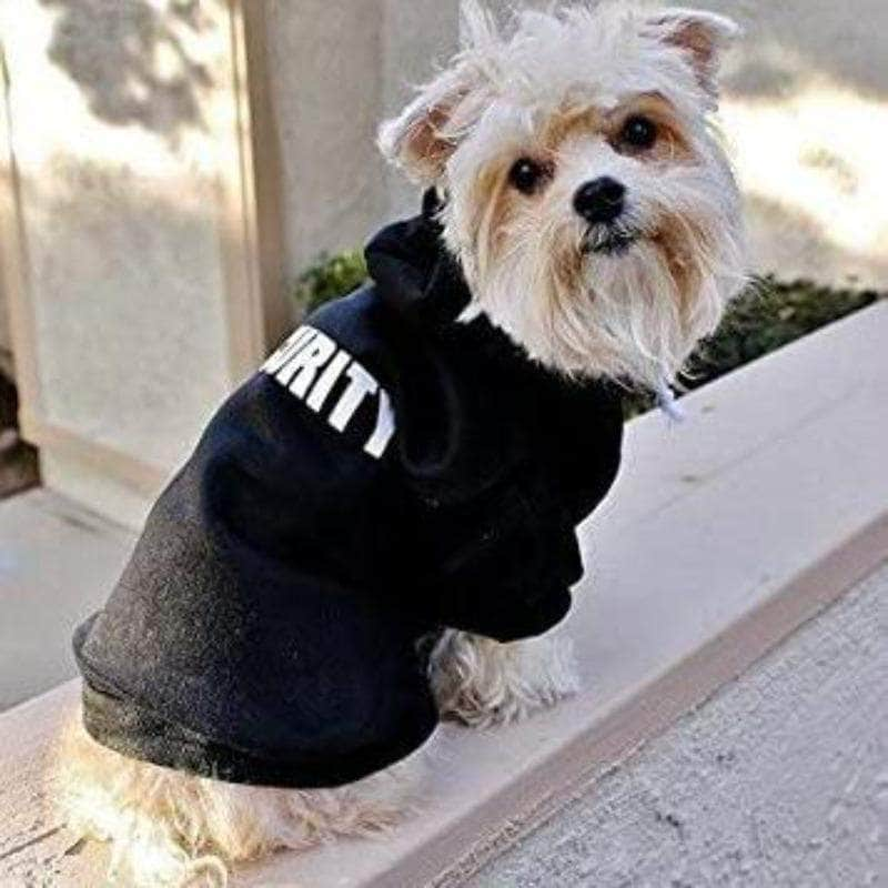 ChicAttire ChicAttire Security Pet Clothes |  Hoodies For Cats and Dogs