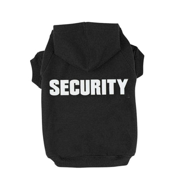 ChicAttire L ChicAttire Security Pet Clothes |  Hoodies For Cats and Dogs OODS0001023