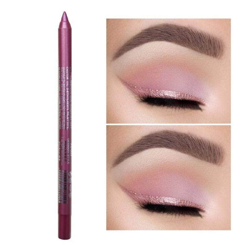 ChicFace Pink ChicFace Long-Lasting Eyeliner Pencil | Velvety-Soft and Waterproof OODS0000958