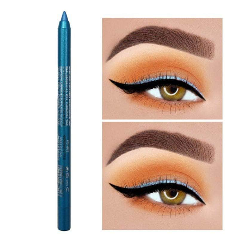 ChicFace Sky Blue ChicFace Long-Lasting Eyeliner Pencil | Velvety-Soft and Waterproof OODS0000957