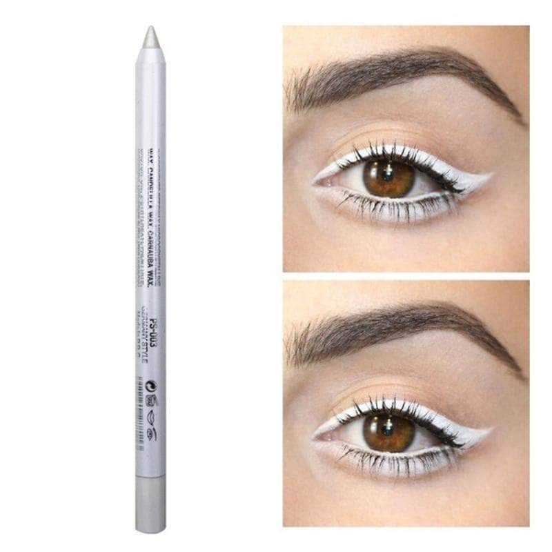 ChicFace White ChicFace Long-Lasting Eyeliner Pencil | Velvety-Soft and Waterproof OODS0000956