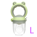 Culine L Culine Food Feeder Pacifier, Infant Fruit Teething Toy | Green OODS0001059