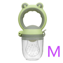 Culine M Culine Food Feeder Pacifier, Infant Fruit Teething Toy | Green OODS0001058
