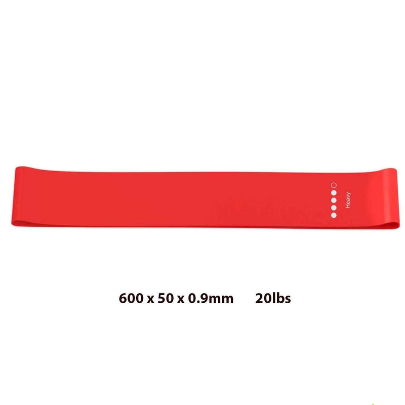 Dojonix Red Dojonix Resistance Loop Bands | Resistance Exercise Bands for Home Fitness & Physical Therapy OODS0000991